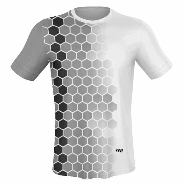 new arrival 86e4c 98a6c MEN'S CUSTOM SUBLIMATED SPORTS JERSEY (GREY,WHITE)