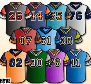 Get Personalized Jersey Design Online